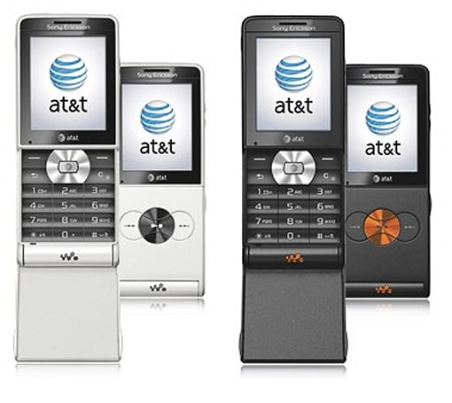 Sony Ericsson W350 now available from AT&T, too