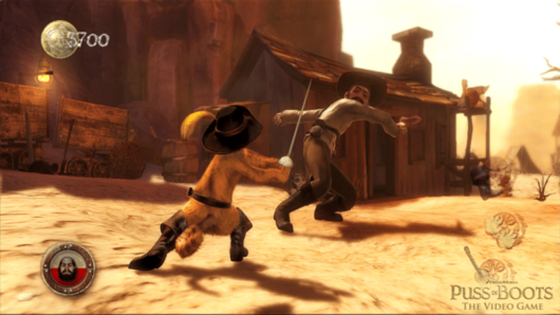 Puss In Boots: The Video Game is exactly what it sounds like