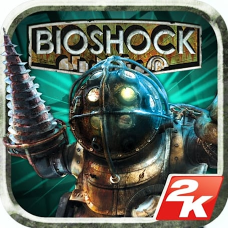 A man chooses which looks better: BioShock on 360 or iOS