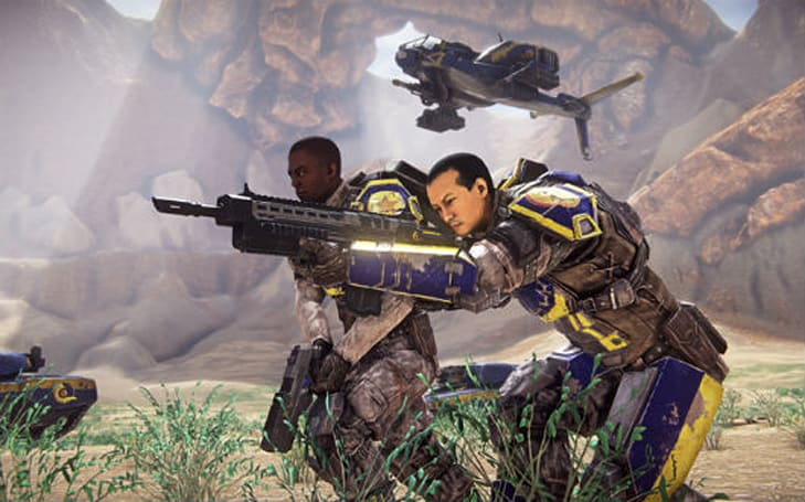 PlanetSide 2's New Conglomerate faction detailed