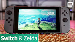 Our first look at the Nintendo Switch and 'Breath of the Wild'