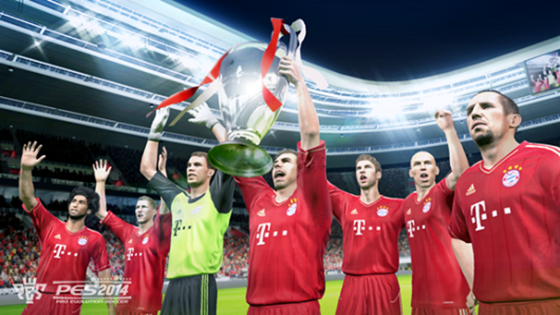 Pro Evolution Soccer 2014 powered by Fox Engine this year