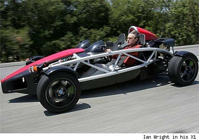 Wrightspeed SR-71 electric car will do 0-60 in 2.5 seconds