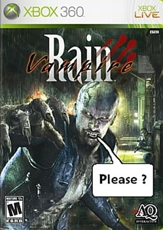 Project Sylpheed DLC: Free, but pulled; Vampire Rain DLC: Free, but pointless