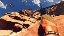 Vom Berg gestürzt: Gefährliches VR