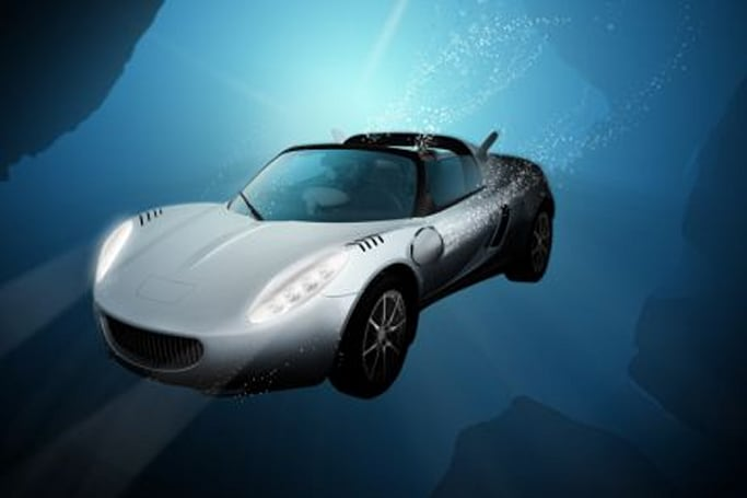 sQuba, the driving, diving concept car from Rinspeed