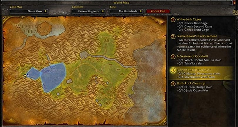 WoW Rookie: Questing 101