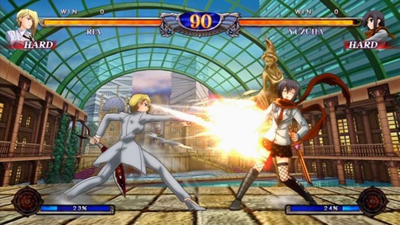 2D fighter 'Phantom Breaker' on the way from publisher 7sixty