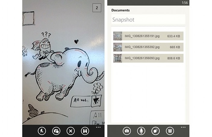 Evernote comes to Windows Phone 8 with multi-shot camera, speech to text support