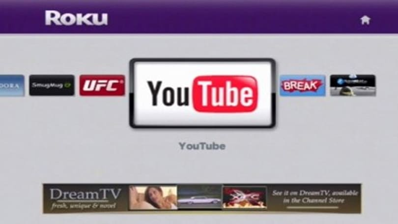 Google puts the kibosh on Roku's unofficial YouTube channel