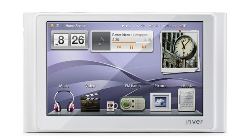 iriver P8 player pops up on Russian site, packs prodigious battery life