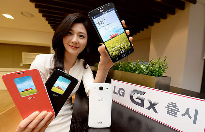 LG launches GX smartphone in Korea with 5.5-inch display, Snapdragon 600