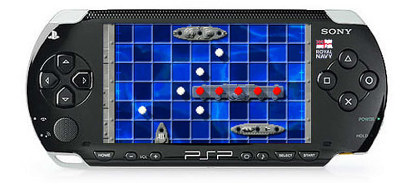 Sony PSPs enlisted as study aids by the Royal Navy