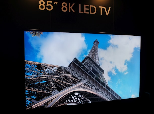 The first 8K TV will go on sale soon for over $130,000