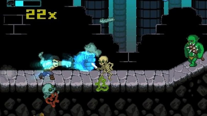 Punch Quest for iOS is serious about punching