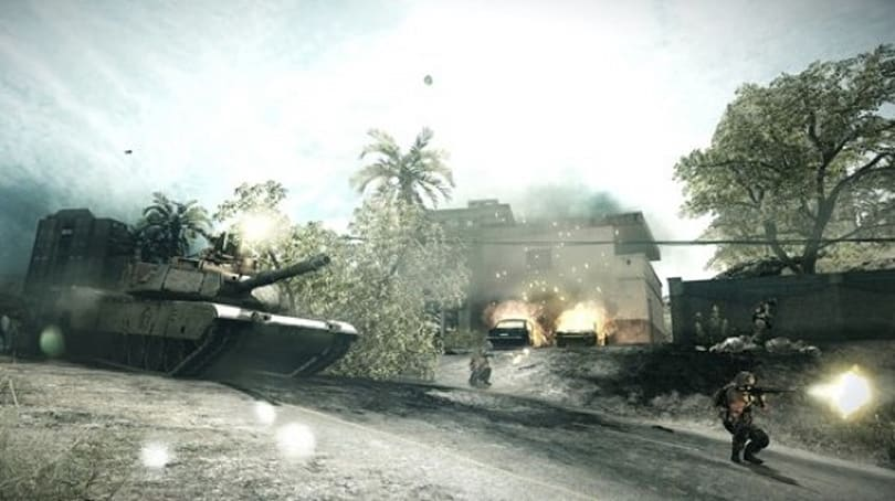 Battlefield 3's 'Back to Karkand' expansion clearly has a problem with structures