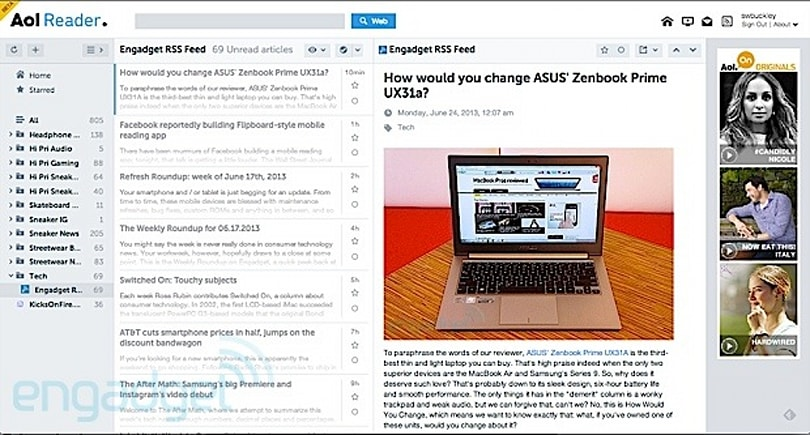 AOL Reader beta officially available for your RSS-perusing needs (hands-on)