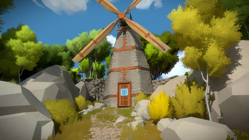 The Witness at least tripled in size during development