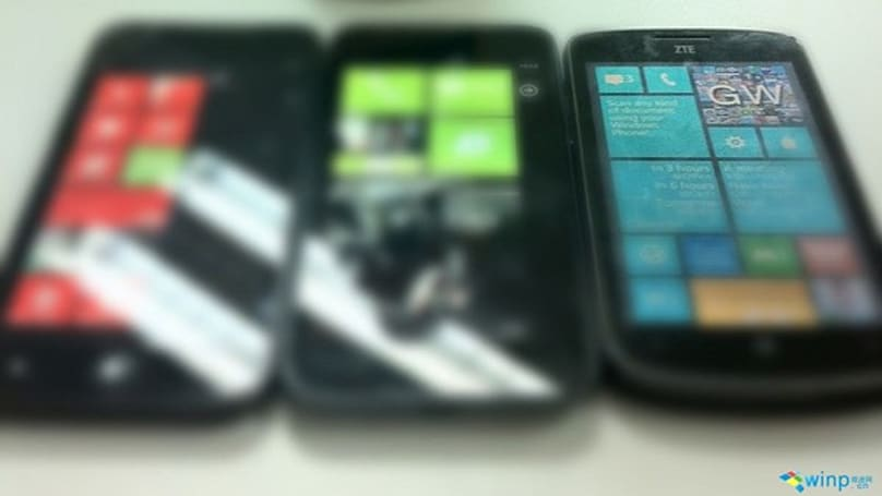 ZTE marketing guy goes crazy with unknown WP8 handset and Gaussian blur