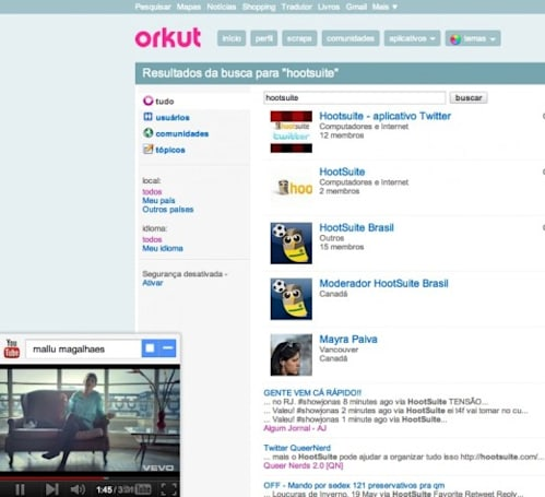 Google brings better YouTube integration to Orkut, hopes you haven't forgotten