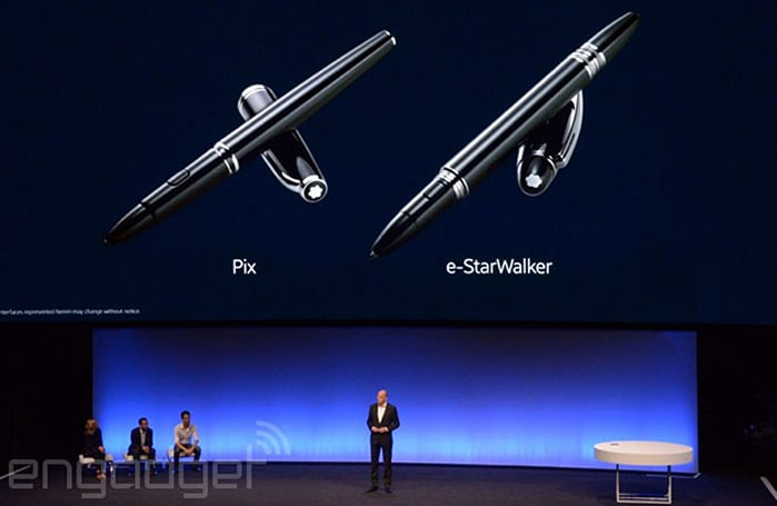 Samsung partners with Montblanc on a chic Galaxy Note 4 stylus