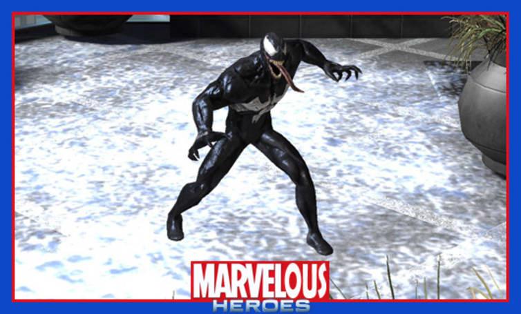 The Stream Team:  A very Venom Marvel Heroes Monday