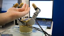 "Intel shows off robotic hand with ""Pre Touch"" object conformation"