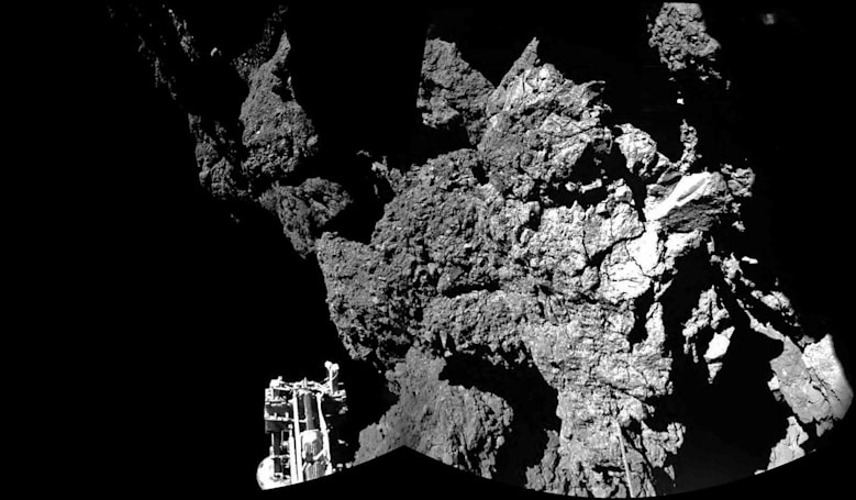 Comet lander Philae says goodbye as communications are cut