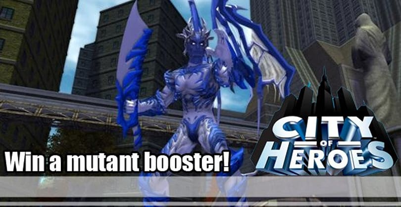 Win a mutant super booster, courtesy of NCsoft and Massively.com!