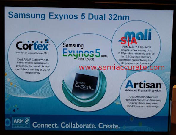 Alleged Exynos 5 specs leaked in slide show spyshot