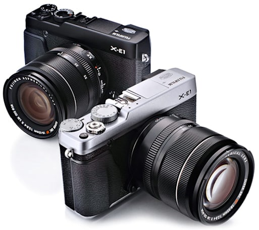 Fujifilm grows X-series mirrorless lineup with 16.3-megapixel X-E1