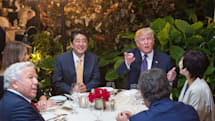 Trump didn't restrict public phone use near classified info