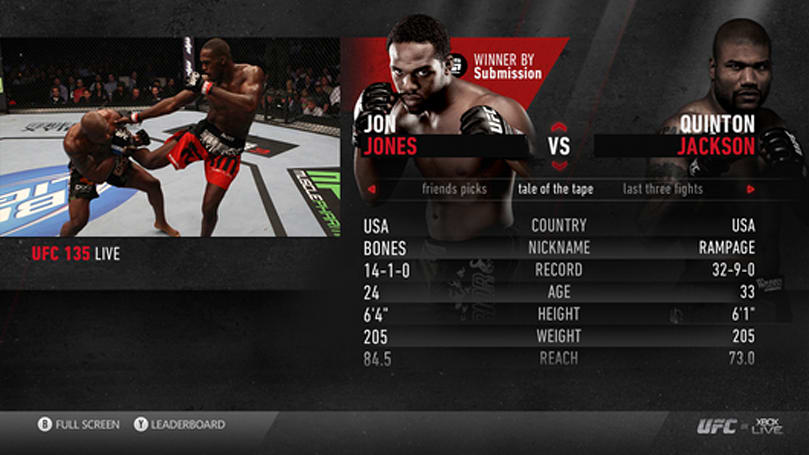 UFC 141 on Xbox Live glitchy, Microsoft promises to make good