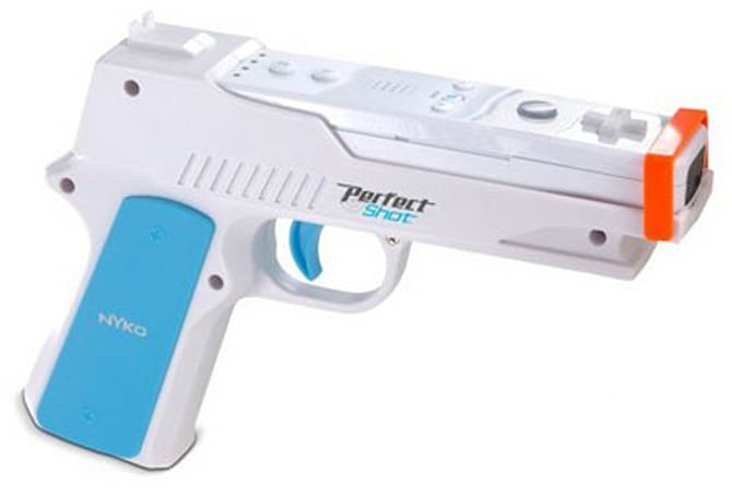Nyko's Perfect Shot Wiimote accessory -- less toy, more gun
