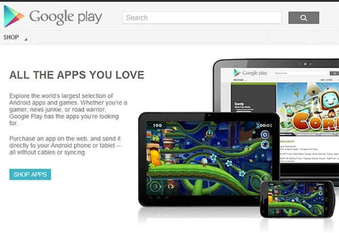 Google Play closing in on Apple's store with 700K apps, says Bloomberg