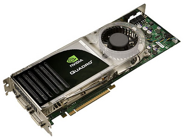 NVIDIA rolls out monster QuadroFX graphics cards