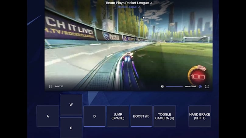 Beam's interactive livestreaming hits Windows, Xbox this winter