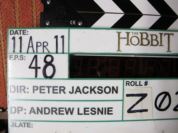 Peter Jackson shooting The Hobbit at 48FPS, should speed up those long walking scenes