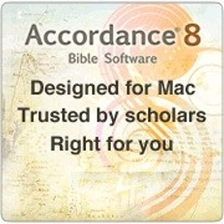 Accordance: powerful Bible study software, only for the Mac