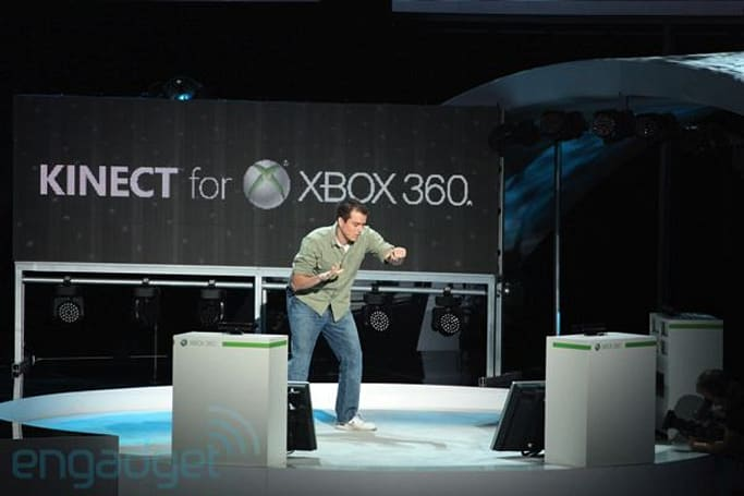 Kinect support explodes, EA Sports, Mass Effect 3, and more hop on board