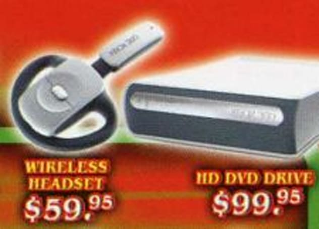 $99 for Xbox 360 HD-DVD add-on