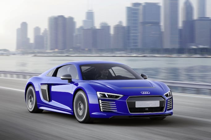 Audi's R8 e-tron electric supercar can now drive itself