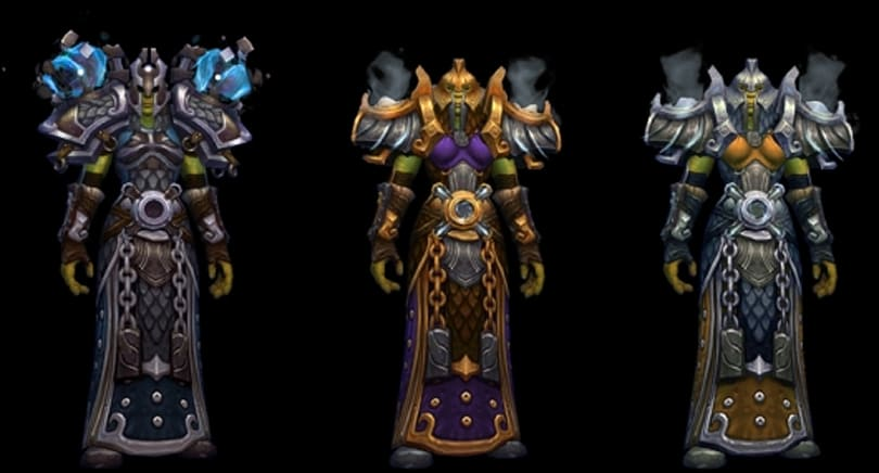 Here are the tier 17 armor sets non-PUG WoW raiders can loot in Highmaul