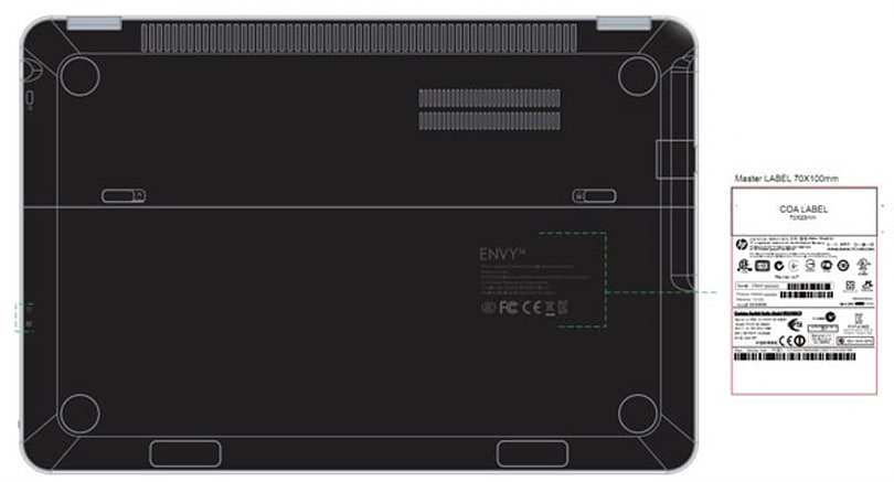 HP Envy Spectre arrives at FCC, next year's model probably called HP Envy SMERSH