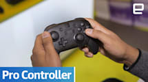 Nintendo Switch Pro Controller: Hands-on