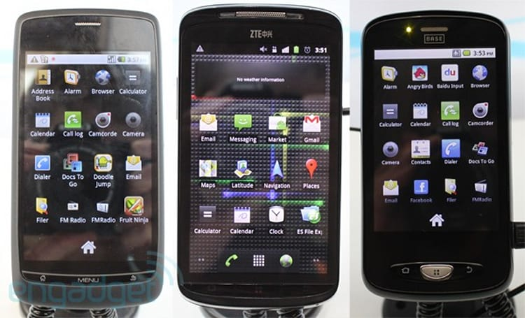 ZTE Amigo, Blade, and Skate hands-on
