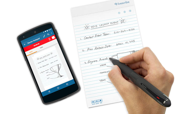 Livescribe's latest smartpen is aimed at writing buffs