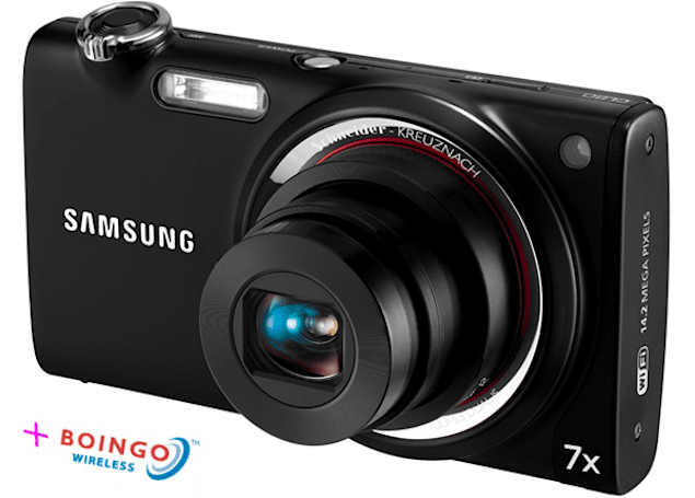 Samsung CL80 will come with three months free Boingo WiFi, oh joy