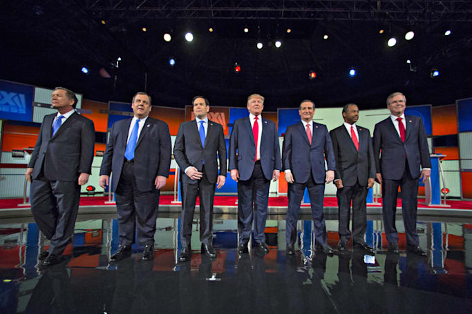 Watch tonight's Republican debate with Engadget