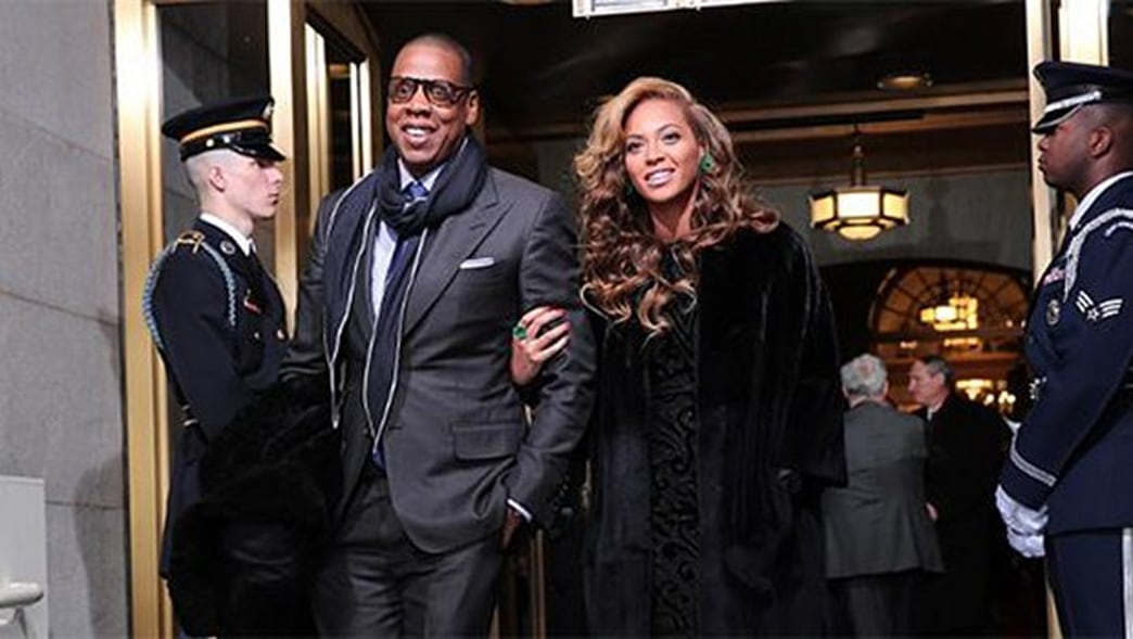 Beyonce and Jay-Z Stun at the 2013 Presidential Inauguration
